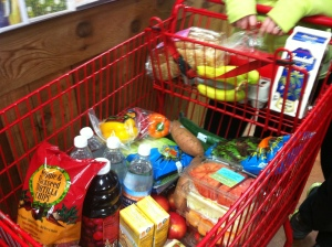 Lee & Ashleigh's shopping cart