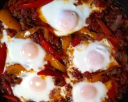 Shakshuka - our first meal of 2014